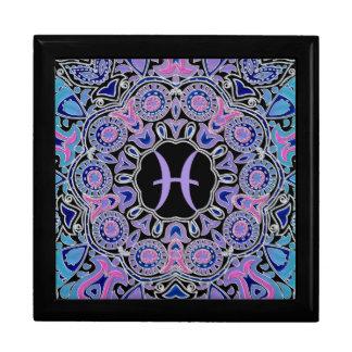 Purple Pisces Mandala Gift Box
