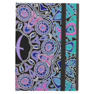 Purple Pisces Mandala iPad Air Case