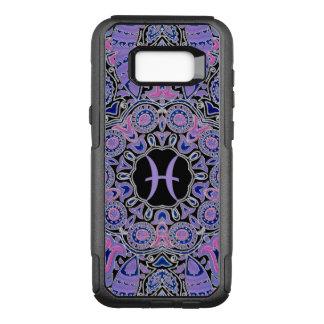 Purple Pisces Mandala OtterBox Commuter Samsung Galaxy S8+ Case