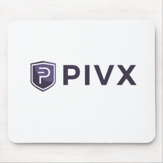 Purple PIVX Shield & Name Mouse Pad
