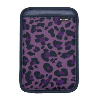 Purple Pixels iPad Mini Vertical iPad Mini Sleeves