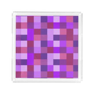 Purple Pixels Kitchen Food Serving Tray