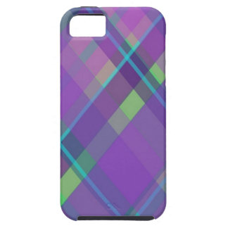 Purple Plaid iPhone 5 Covers