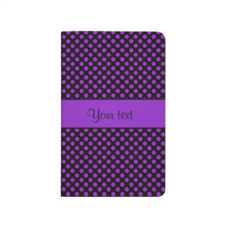 Purple Polka Dots Journal