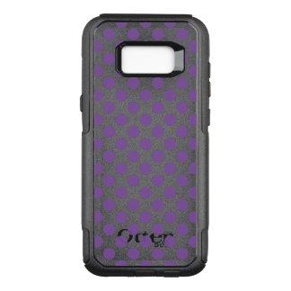 Purple Polka Dots OtterBox Commuter Samsung Galaxy S8+ Case