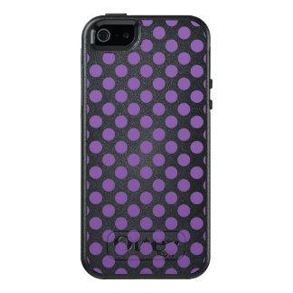 Purple Polka Dots OtterBox iPhone 5/5s/SE Case