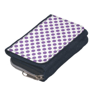 Purple Polka Dots Wallet
