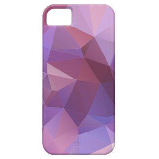 Purple Polygon Customisable iPhone 5 Covers