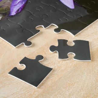 Purple Pond Lily Puzzle