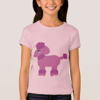 Purple Poodle T-Shirt