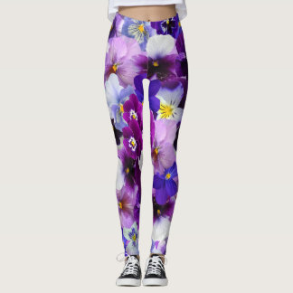 Purple Poppy Power! Leggings