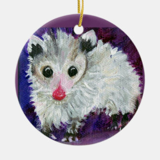 Purple Possum Ornament