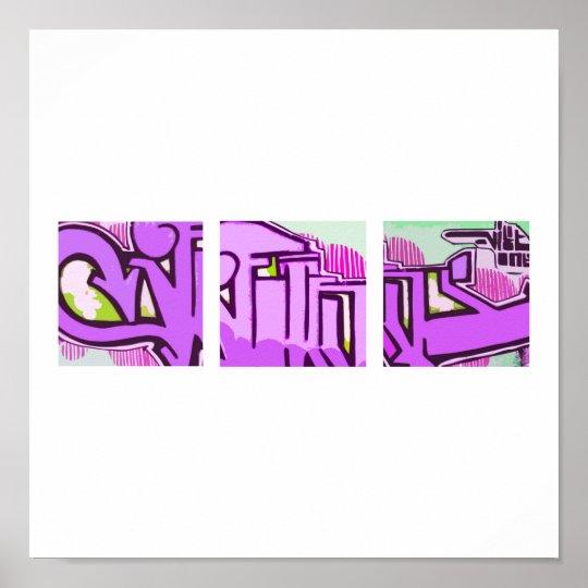 Purple Power Poster