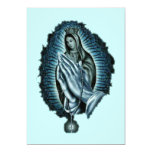 Purple Prayer Blessed Virgin Mary Invitation