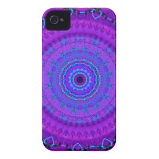 Purple Psyche Mandala kaleidoscope iPhone 4 case