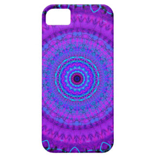 Purple Psyche Mandala kaleidoscope iPhone 5 case