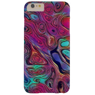 Purple Psychedelic Barely There iPhone 6 Plus Case