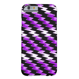 Purple Psychedelic Lightning Pattern Barely There iPhone 6 Case