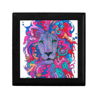 Purple Psychedelic Lion Gift Box