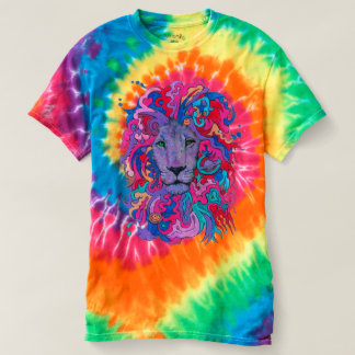 Purple Psychedelic Lion T-shirt