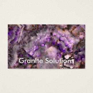 Purple Quartz Business Card