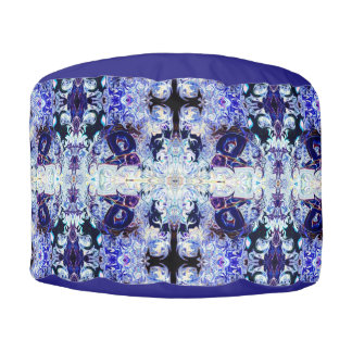 Purple Rabbit Yoga Pose Pouf Pillow be Deprise