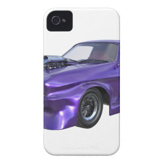 Purple Racing Car Case-Mate iPhone 4 Case