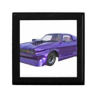 Purple Racing Car Gift Box