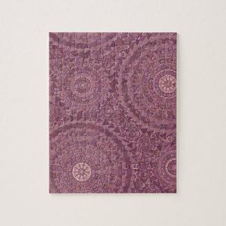 Purple Rain Drops Jigsaw Puzzle