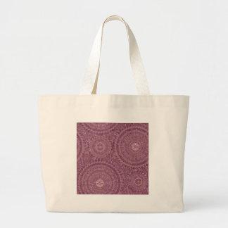 Purple Rain Drops Large Tote Bag