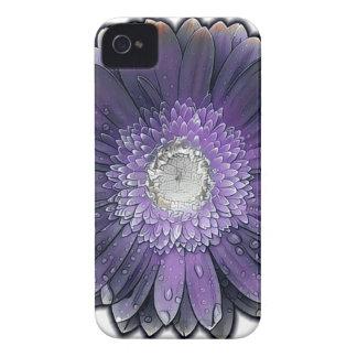 Purple Rain gerbera Case-Mate iPhone 4 Case