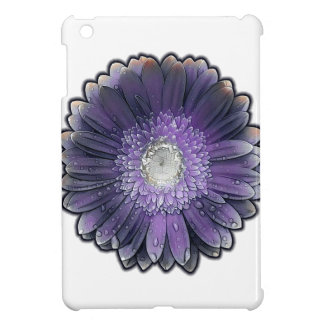 Purple Rain gerbera iPad Mini Case