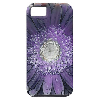 Purple Rain gerbera iPhone 5 Cover