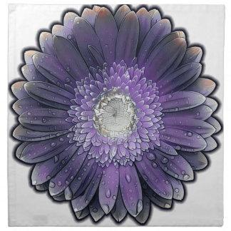 Purple Rain gerbera Napkin