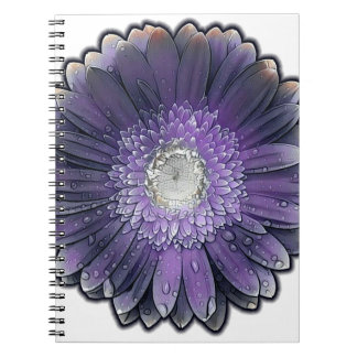 Purple Rain gerbera Notebook