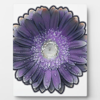 Purple Rain gerbera Plaque