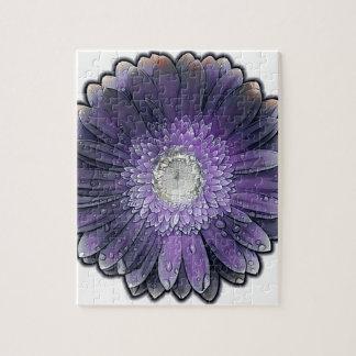 Purple Rain gerbera Puzzles