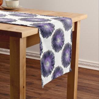 Purple Rain gerbera Short Table Runner