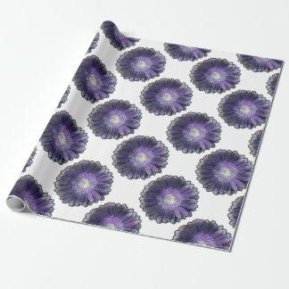Purple Rain gerbera Wrapping Paper