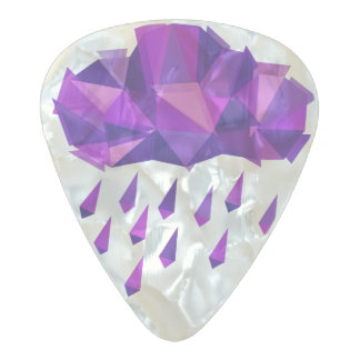 Purple Rain Pearl Celluloid Guitar Pick
