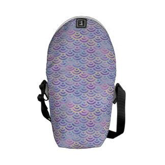 Purple Rainbow Mermaid Pastel Pattern Commuter Bags