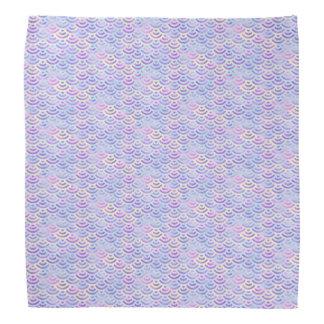 Purple Rainbow Mermaid Pastel Pattern Do-rags