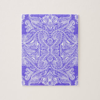 Purple, Raven of mirrors, dreams, bohemian Jigsaw Puzzle