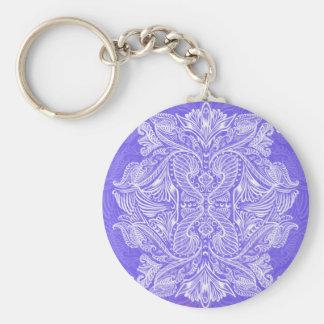 Purple, Raven of mirrors, dreams, bohemian Keychain