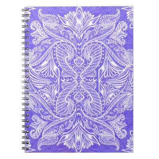 Purple, Raven of mirrors, dreams, bohemian Notebook