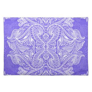 Purple, Raven of mirrors, dreams, bohemian Placemat