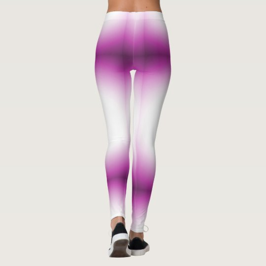 Purple Rays Leggings