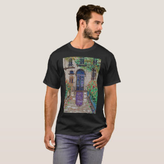 Purple Reflection Artistic T-Shirt