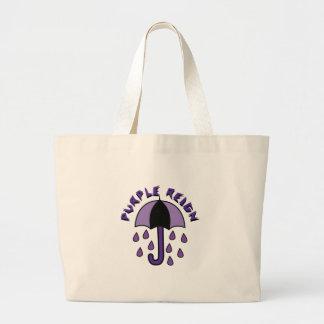 Purple Reign Large Tote Bag