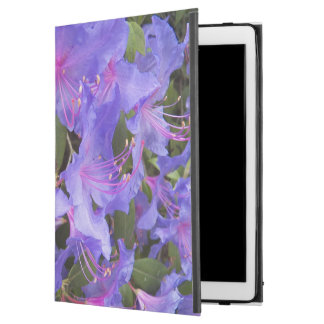 "Purple Rhododendron Blooms Floral iPad Pro 12.9"" Case"